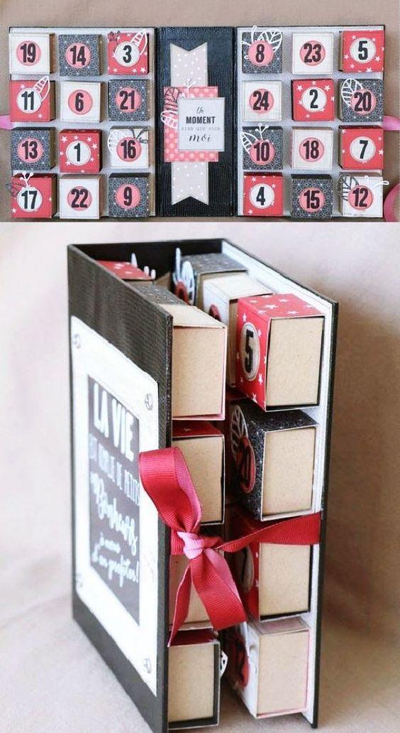 Fotos con ideas para Regalos de amigo invisible hechos a mano cajas amor