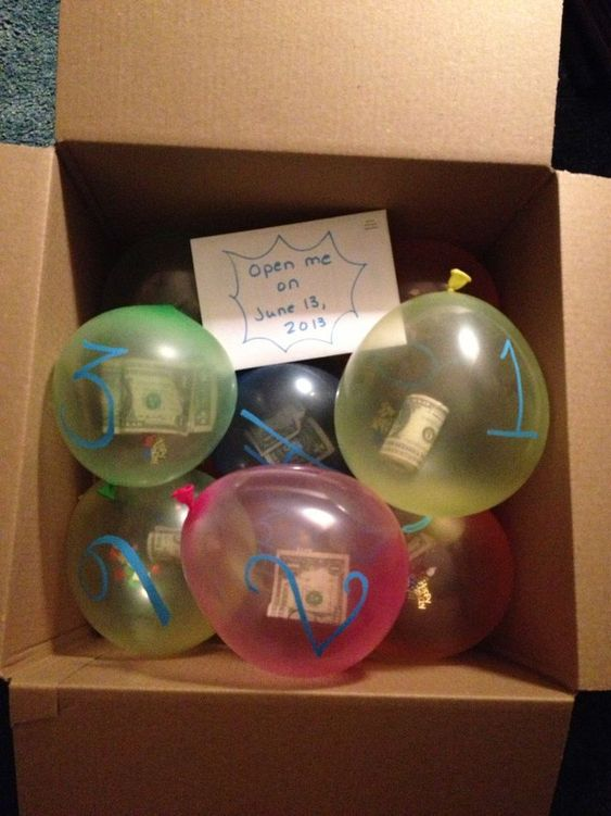 Fotos con ideas para Regalos de amigo invisible hechos a mano globo sorpresa