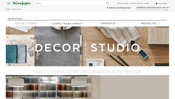 Decor Studio, el nuevo servicio de decoración de El Corte Inglés Home