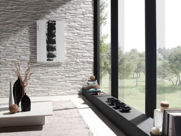 Bricolaje 10 revestimiento de paredes s mil piedra - Muebles de piedra ...