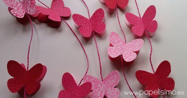 mariposas-de-papel-rosas