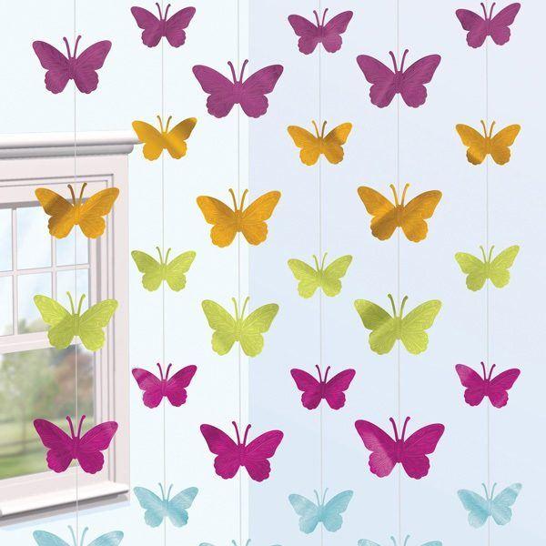 Mariposas de papel bricolaje10 - Como hacer mariposas de papel para decorar paredes ...