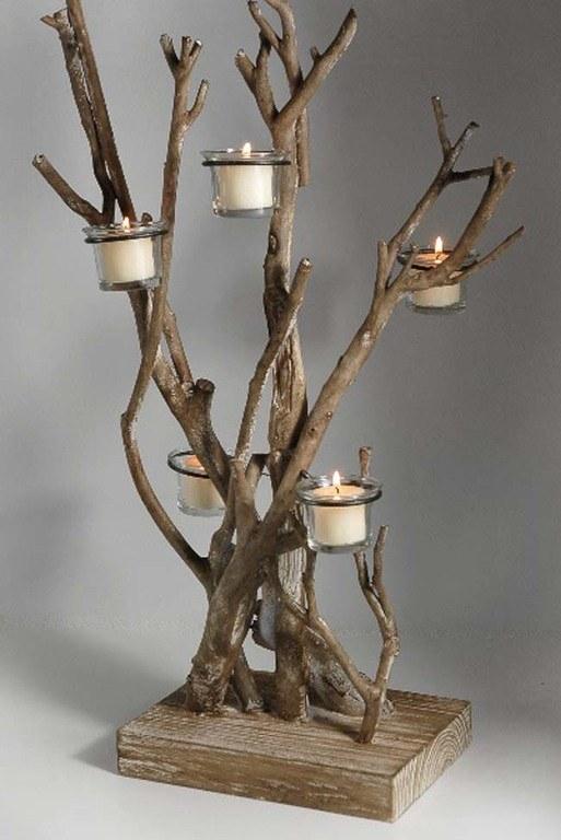 como-decorar-candelabros-con-ramas
