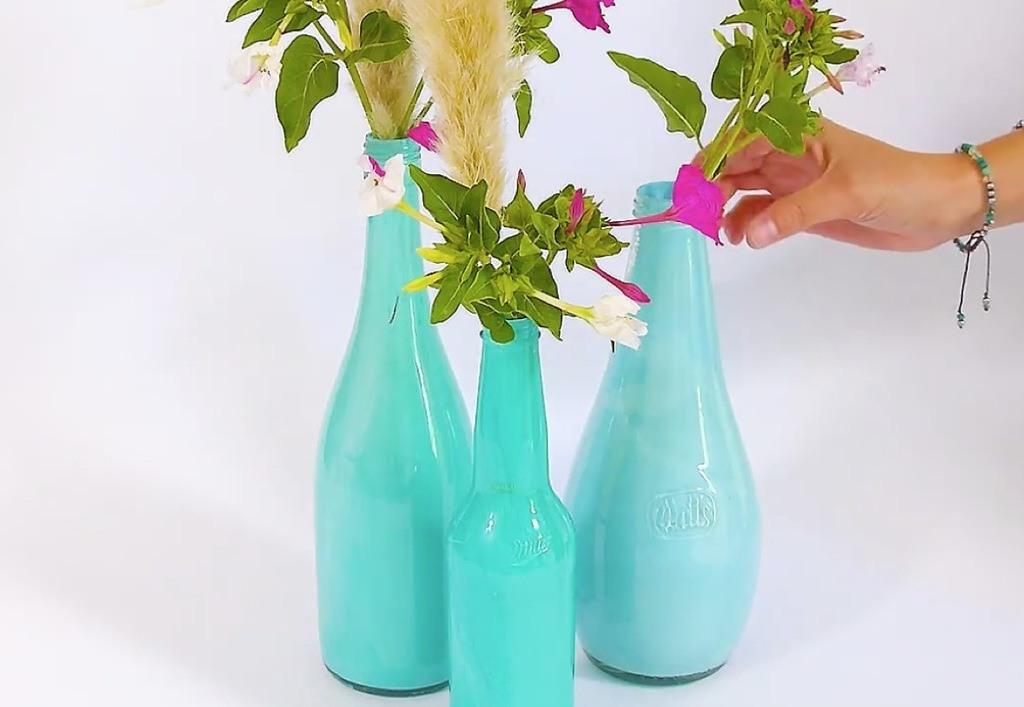 aprender-hacer-floreros-plastico-vidrio-facil