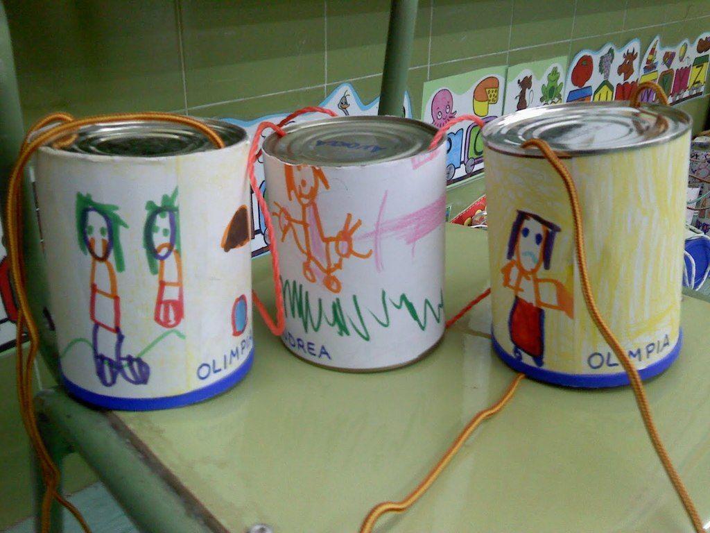 zancos-para-niños-latas-pintadas