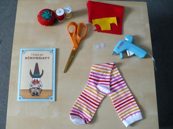 títeres-de-calcetines-materiales