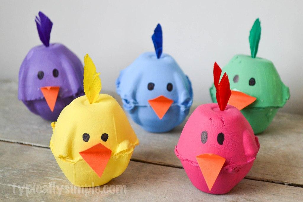 Cajas De Huevos Como Hacer Animales Con Cajas De Huevos Bricolaje 10