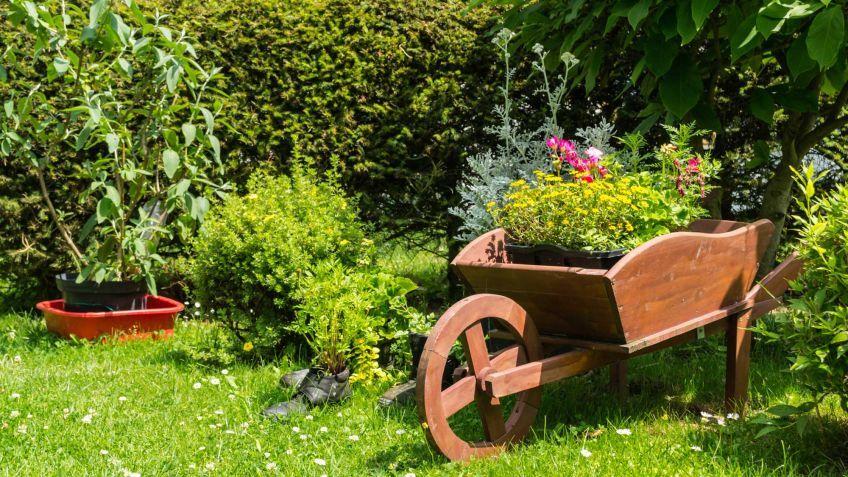 Carretilla c mo se construye una carretilla for Carretilla de madera para jardin