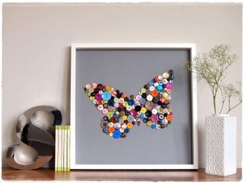 cuadro-de-botones-mariposa