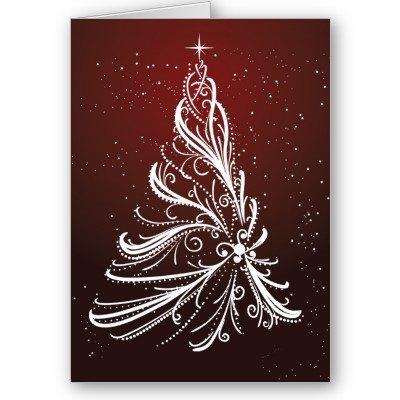 Arbol de navidad elegante felicitaciones - Arboles de navidad elegantes ...