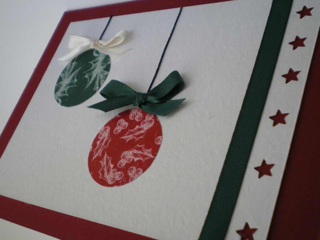 Elegantes tarjetas navideñas hechas a mano 2018 - Bricolaje10.com