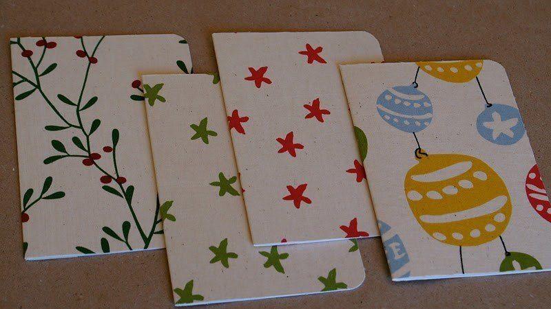 Tarjetas navidad artesanales tarjetas sencillas con - Tarjetas de navidad artesanales ...