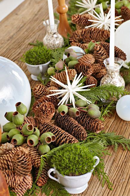 Ideas para hacer centros de mesa en navidad 2016 for Centros navidad para mesa