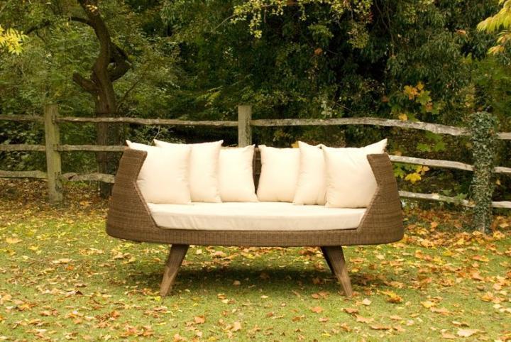 Cojines para muebles de patio for Sillones exterior diseno
