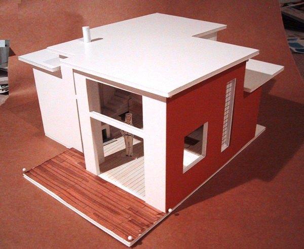 C mo hacer maquetas de casas for Materiales para hacer un piso