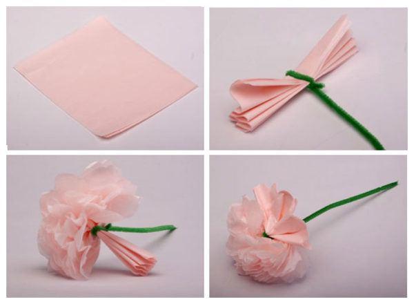 flores-de-papel-clavel