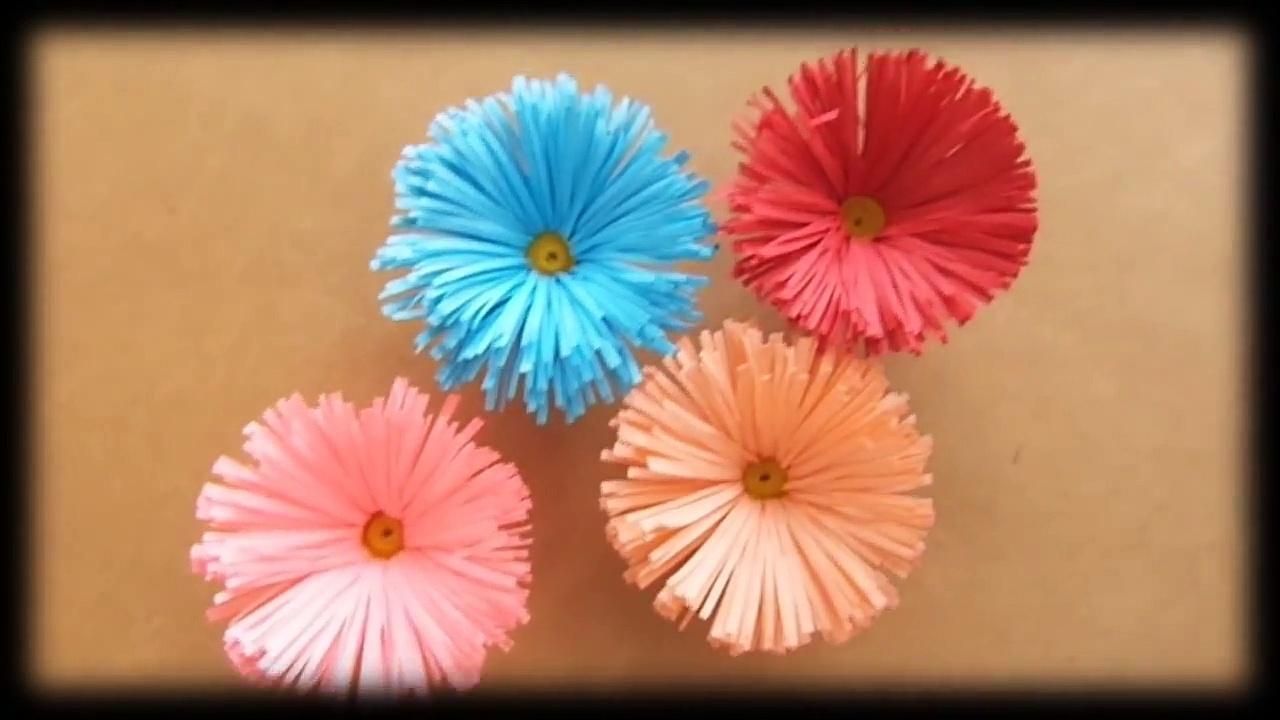 Flores De Papel Margaritas Bricolaje10 Com