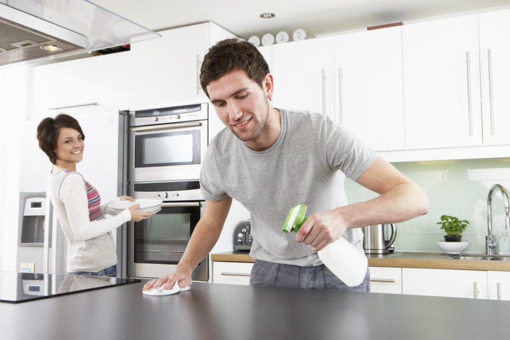 limpiar-muebles-de-cocina-acero-inoxidable