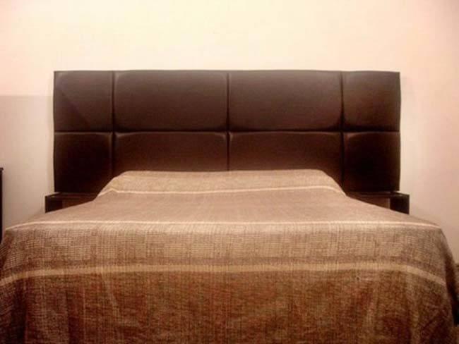 Cabeceros de cama con materiales reciclados - Telas para forrar cabecero cama ...