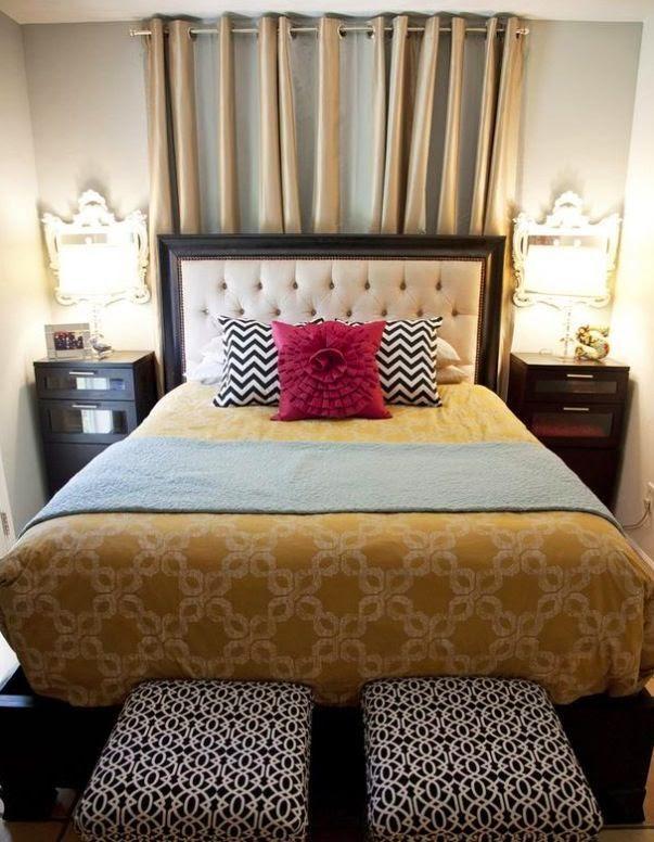 Cómo-decorar-un-dormitorio-matrimonial-pequeño