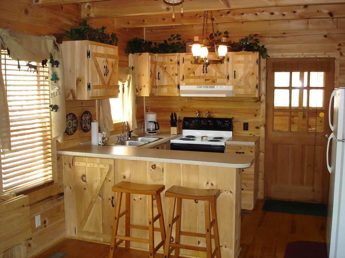 rustic small kitchen design ideas