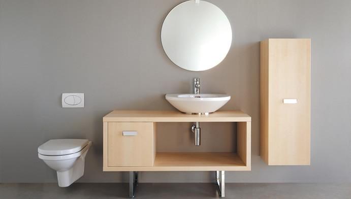 Muebles de melamina para el cuarto de ba o - Muebles de cuarto de bano ...
