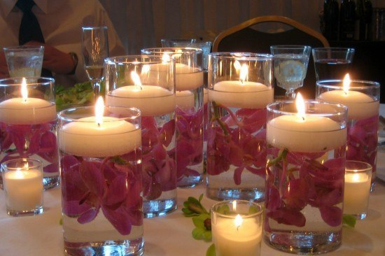 hacer-centros-de-mesa-velas