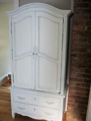 Cómo pintar un armario