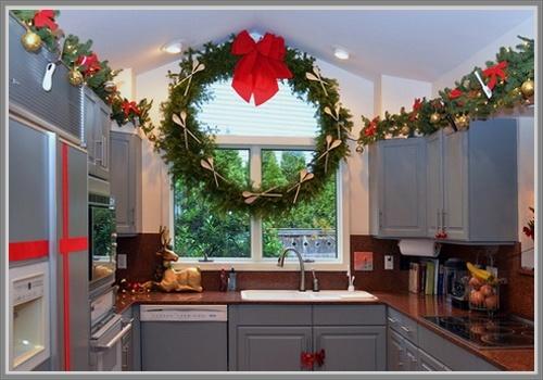 decoracion navide a cocina 2014
