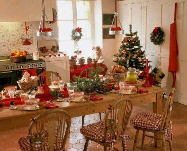 Decoracion Navidea Cocina 2014 Bricolaje10com