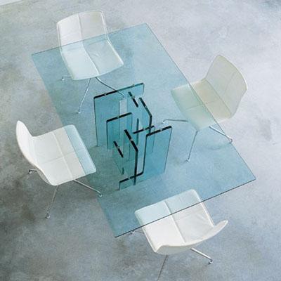 Como reparar una mesa for Bases para mesas de cristal