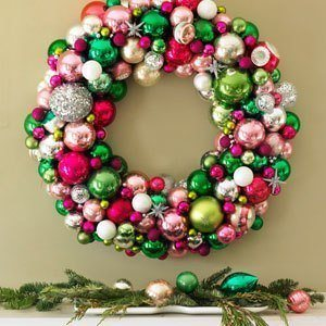 puertas navideñas decoración corona