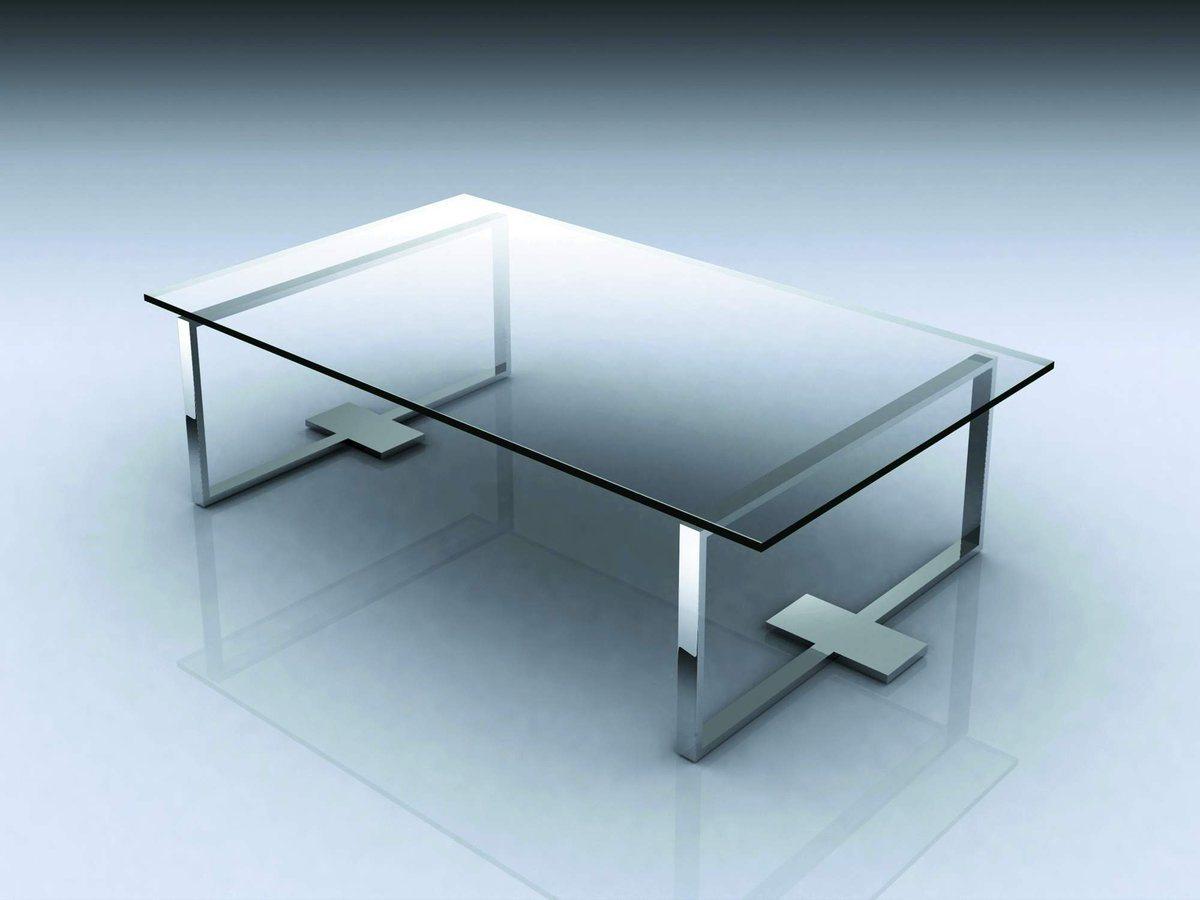 Mesas cristal for Mesas ovaladas de cristal