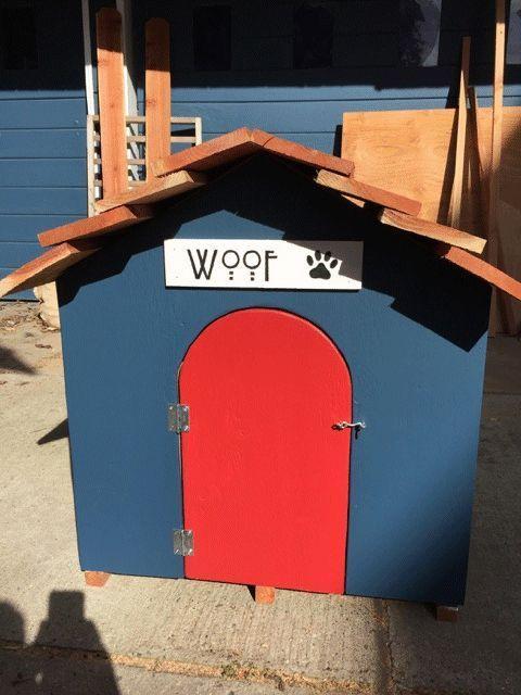 C mo hacer una caseta para perros paso a paso for Caseta perro pequeno