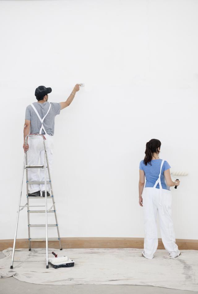 Los mejores colores para paredes e interiores 2019 - Pintar paredes blancas ...