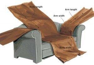 Hacer funda sof Como forrar un sofa viejo