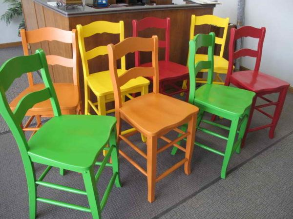 Pintar una silla - Pasos para pintar ...
