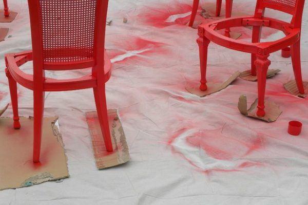 Pintar una silla - Pintar sillas de madera ...