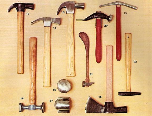 Cómo-escojer-un-martillo-tipos