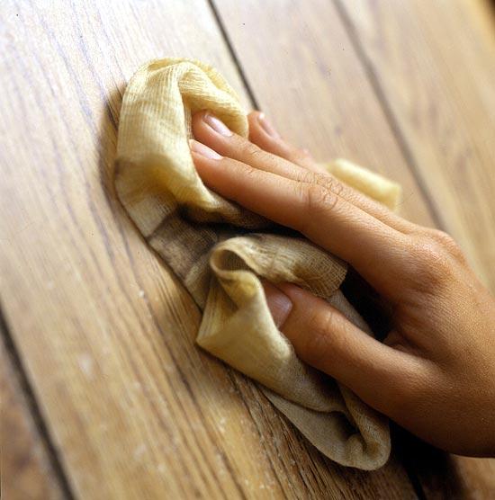 Cómo limpiar la madera - Bricolaje10.com