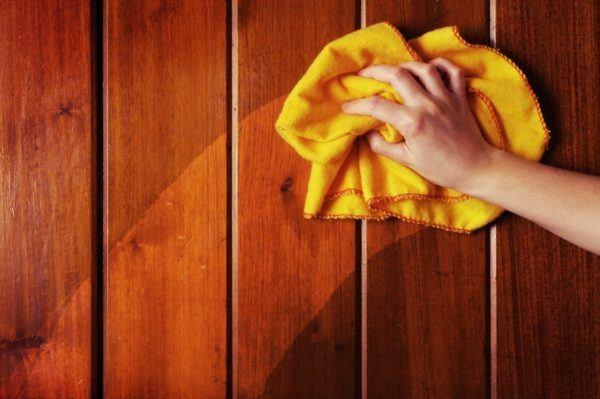 Bricolaje 10 c mo limpiar la madera bricolaje 10 - Como limpiar muebles de madera ...