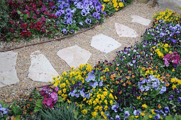 Accesorios jardin bonito suelo