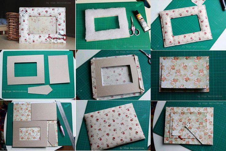 portarretratos-con-materiales-reciclados-tela-y-carton