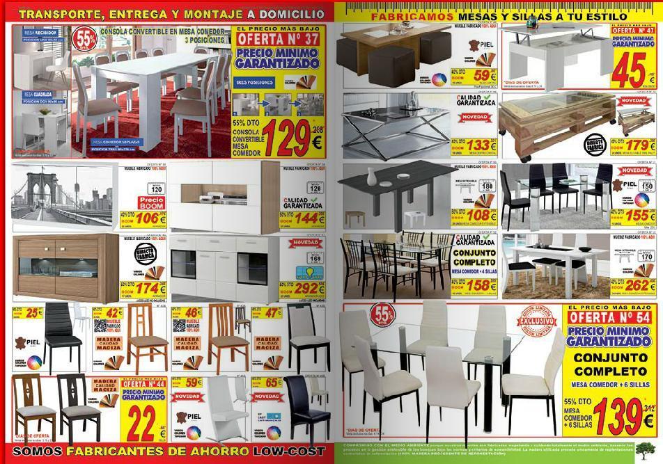 Catalogo muebles boom 2014 muebles de comedor for Catalogo de muebles boom