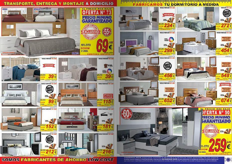Catalogo muebles boom 2014 muebles de dormitorio for Catalogo boom del mueble