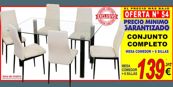 Cat logo muebles boom 2016 for Comedor 10 sillas oferta