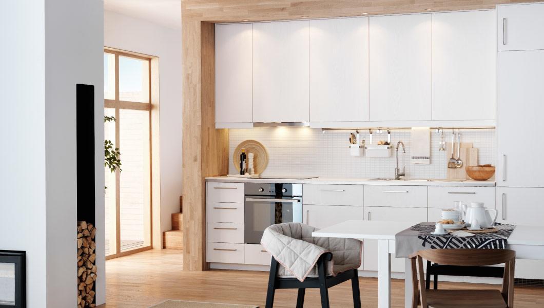 Cocinas modernas catalogo ikea 2014 cocina modulos blanca for Catalogo cocinas integrales modernas