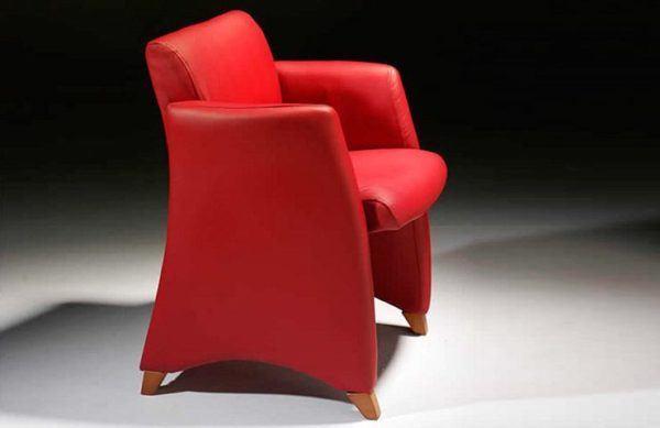 muebles boom sofa rojo