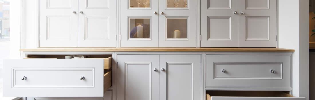 Muebles De Cocina Hechos De Obra. Cocina En Color Azul Y Blanco With ...