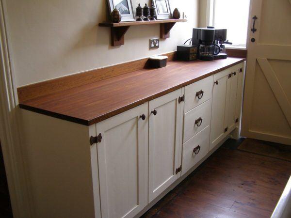 Muebles de cocina hechos a mano - Mueble cocina blanco ...